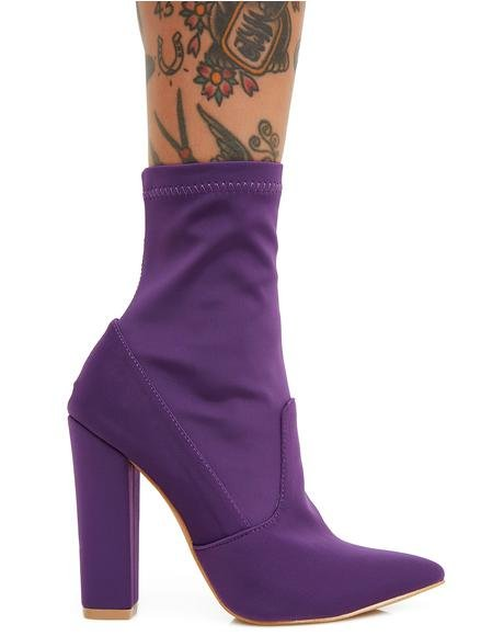 All Eyes On You Heeled Boots
