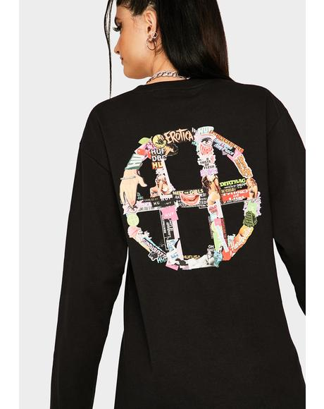 HUF Erotica Long Sleeve Graphic Tee