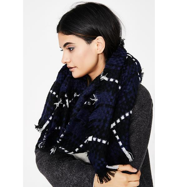 Midnight Best Wishes Scarf