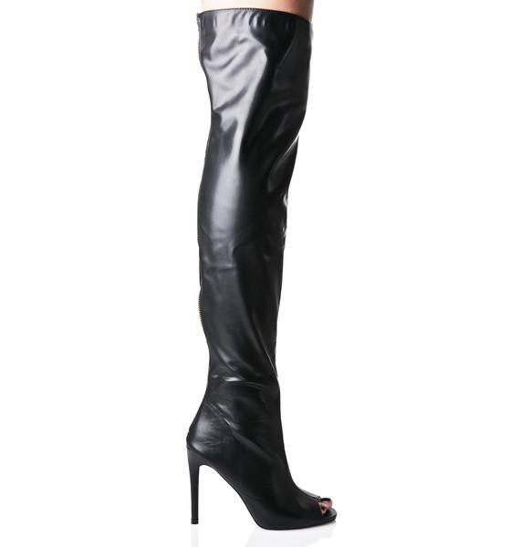 Exposure Thigh-High Boots