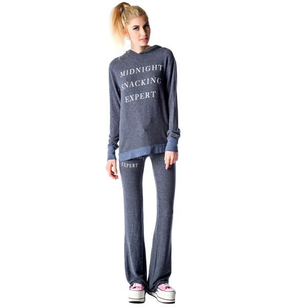 Wildfox Couture Midnight Snacking Expert Gypsy Hoodie