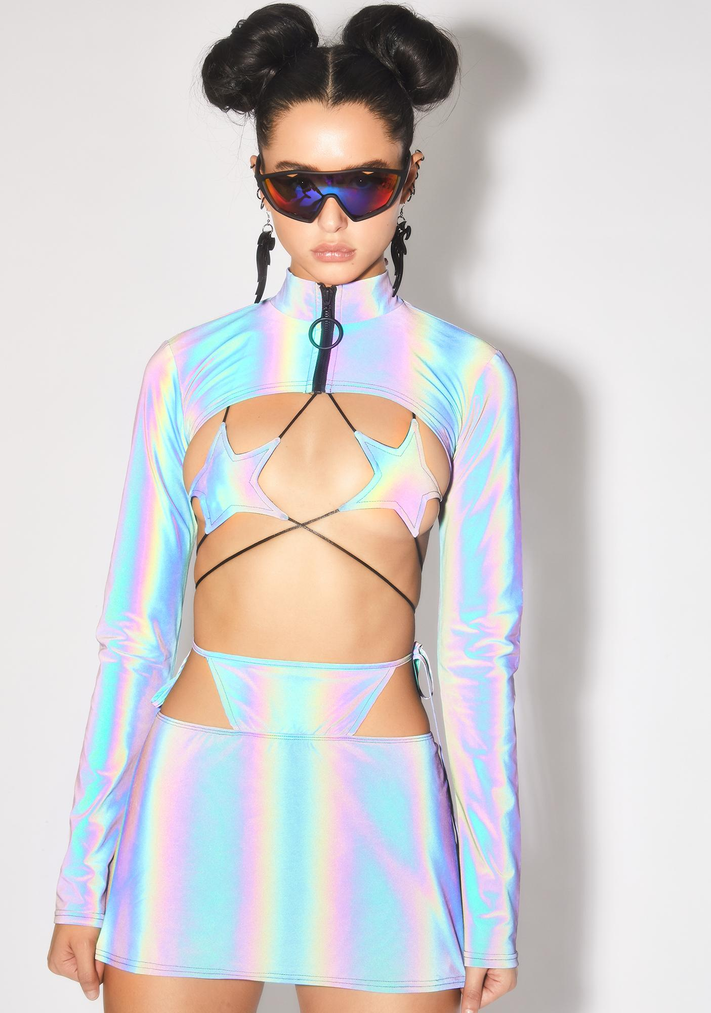 Club Exx Spectral Frequency Reflective Shrug