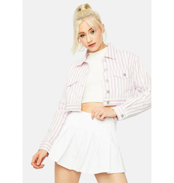 Romantic Pining For You Cropped Jacket