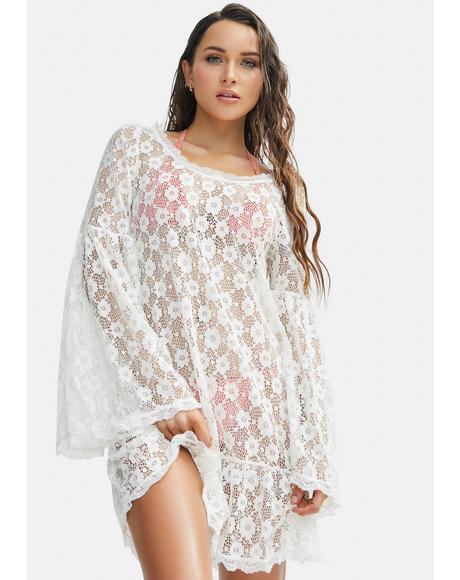 Crochet Isabella Daisy Dress