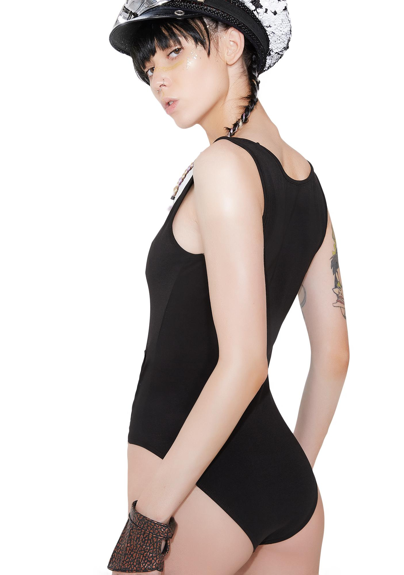 Kiki Riki At The Edge Cut-Out Bodysuit