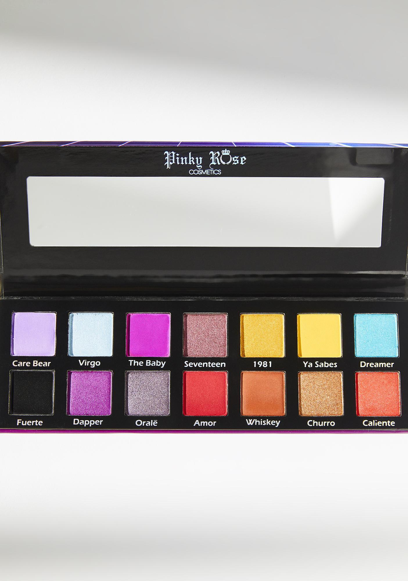 Pinky Rose Cosmetics 80s Baby Eyeshadow Palette