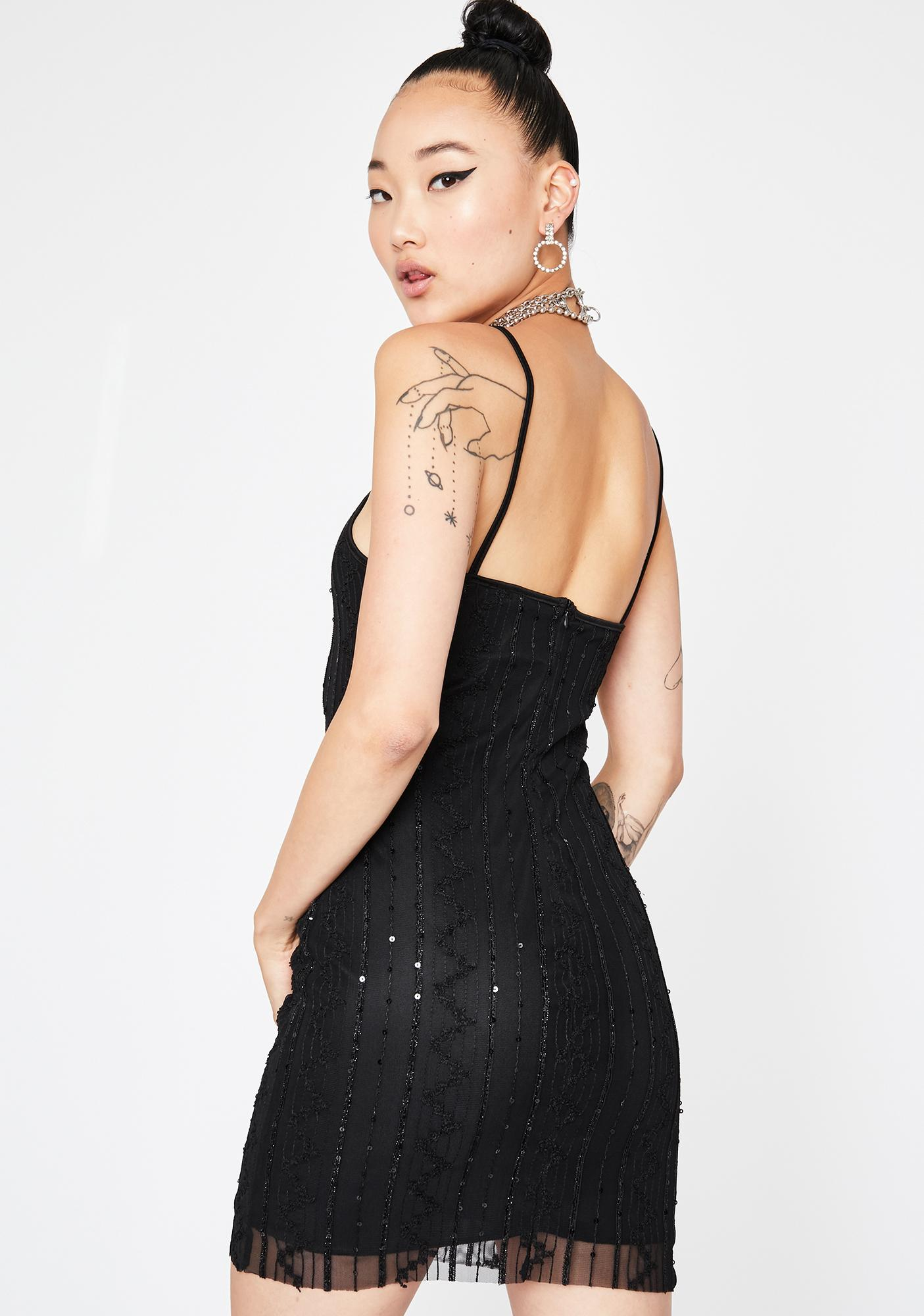 Nightly Slay Mini Dress