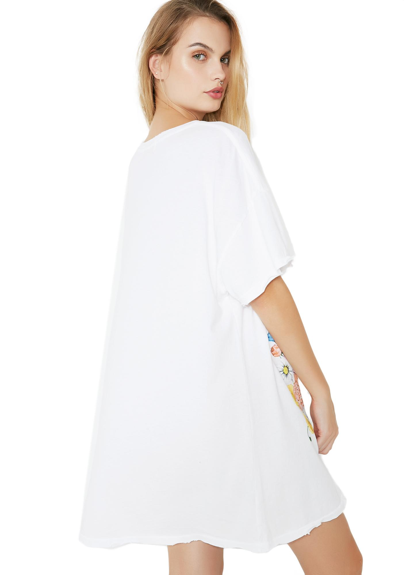 Wildfox Couture Babe Party Doll T-Shirt Dress