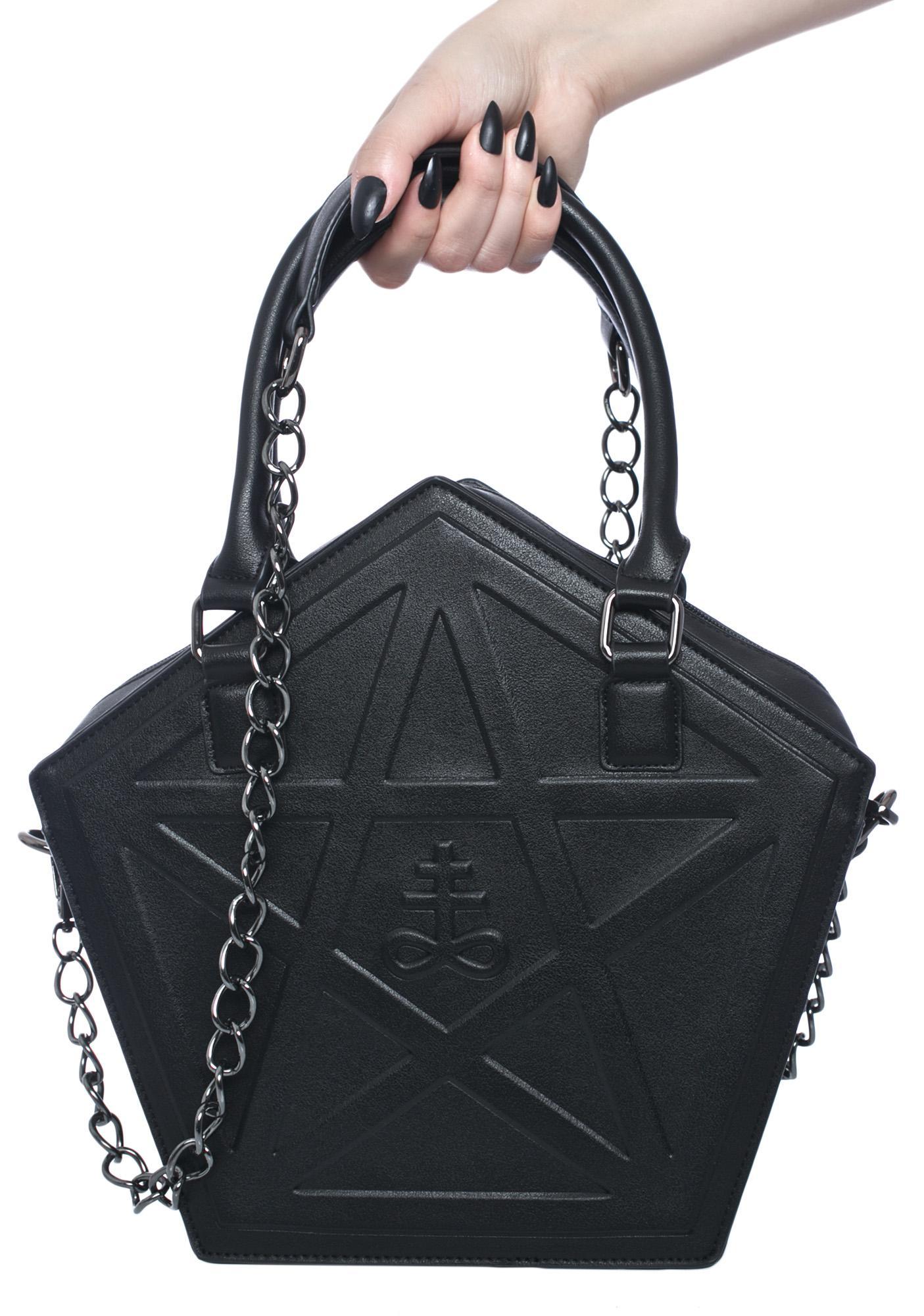Killstar Kylie Kills Pentagram Bag