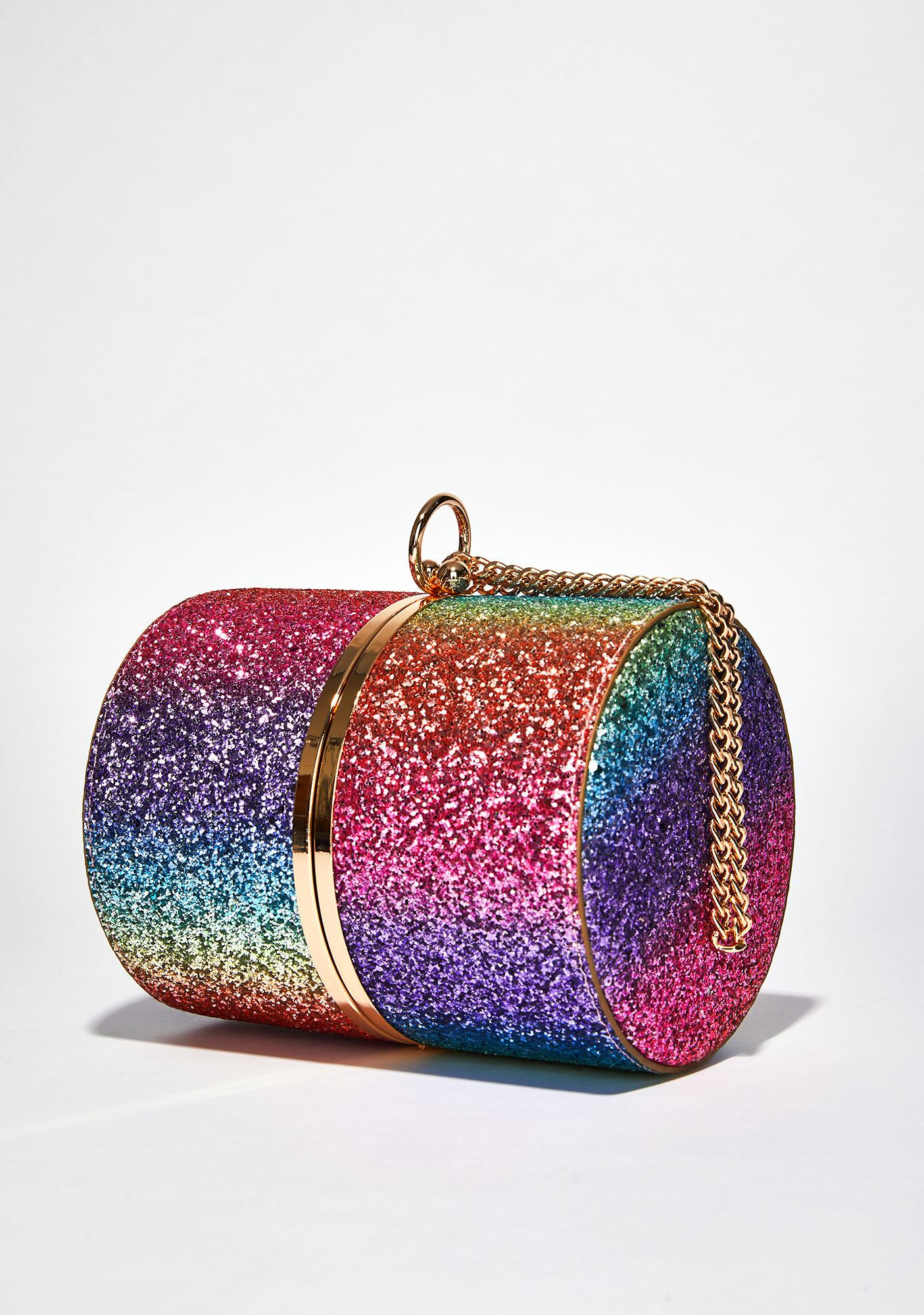 Chromatic Cutie Cylinder Bag
