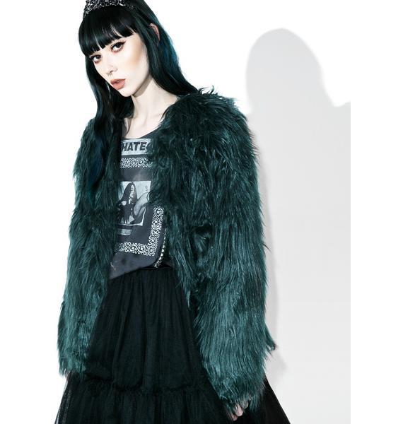 Madison Faux Fur Coat