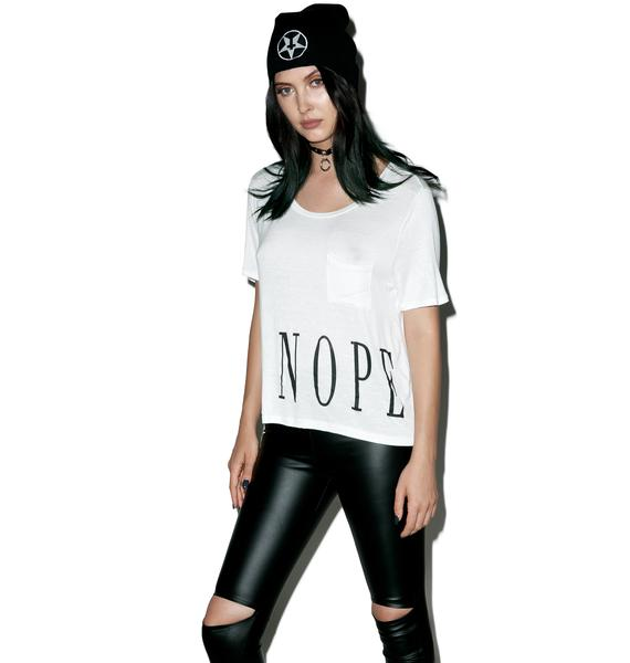 Not About It Tee