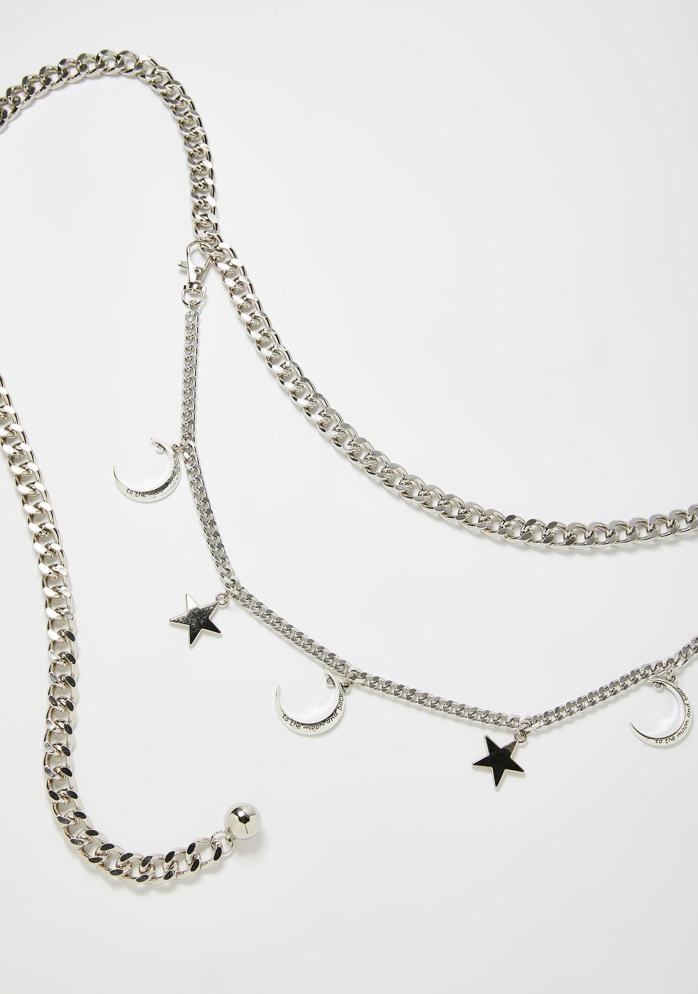 Moon Magic Celestial Star Waist Chain