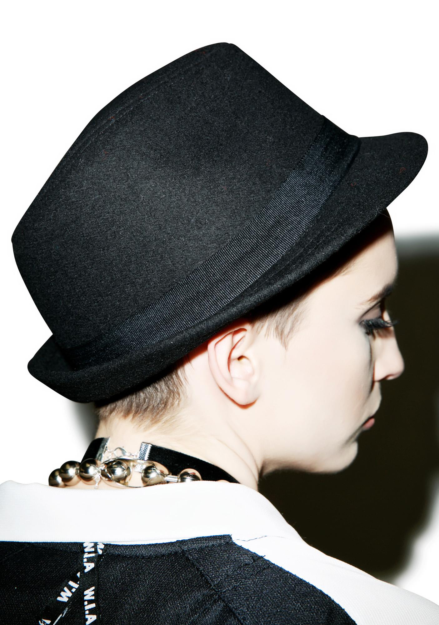 BOY London BOY Fedora Hat