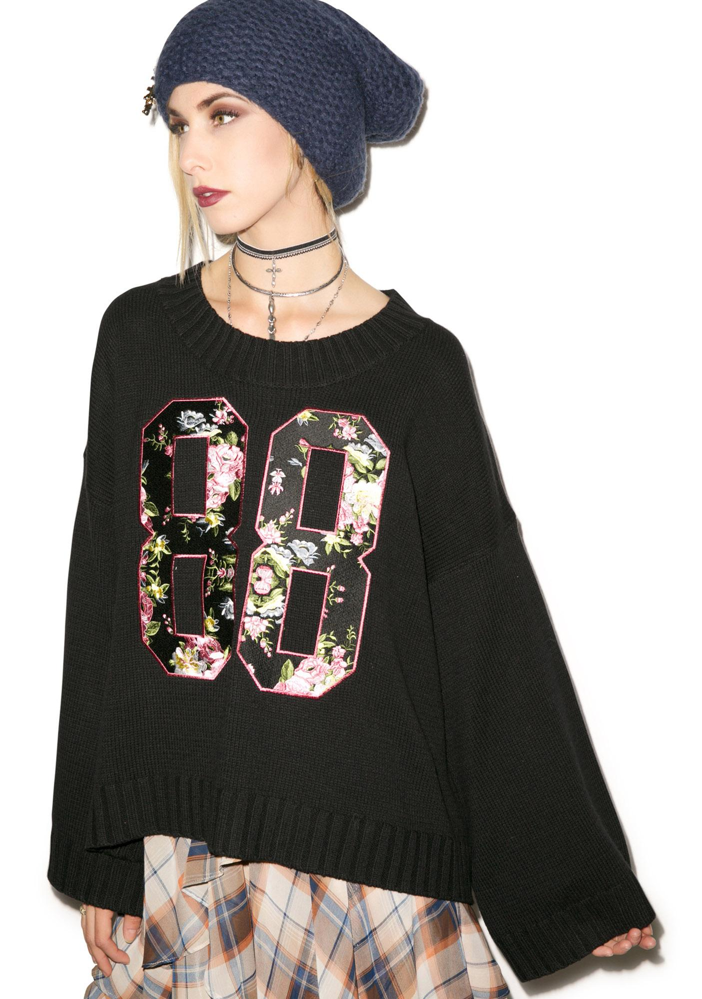 Wildfox Couture 88 Chunky Oversized Sweater