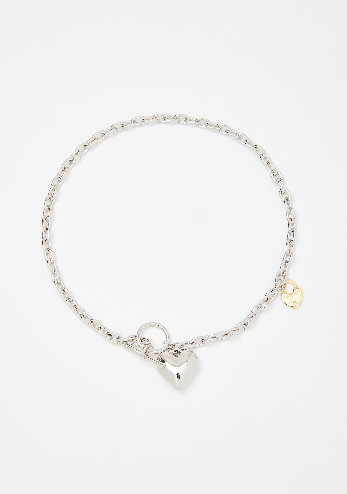 Love Stunned Chain Necklace