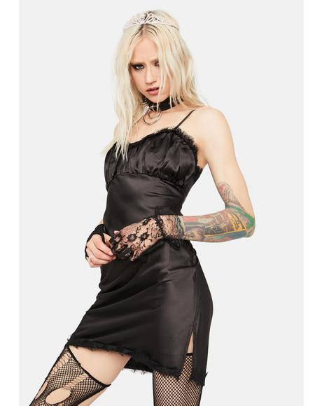 Nox Dreaming Of Tomorrow Ruched Slip Dress