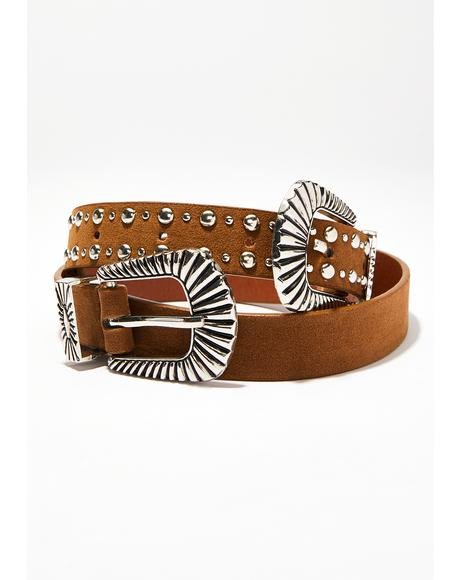 Wildin' Out Double Buckle Belt