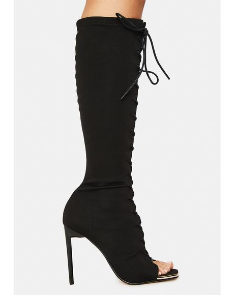 Forever Bond Lace Up Boots