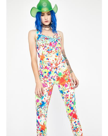 Pure Rave Craze Tank Jumpsuit