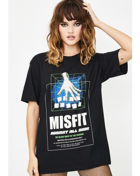 Misfit Graphic Tee