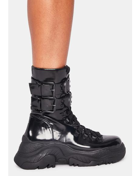 Hollywood Hiker Combat Boots