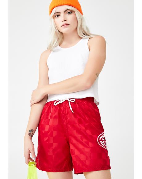 Petals Globos Shorts