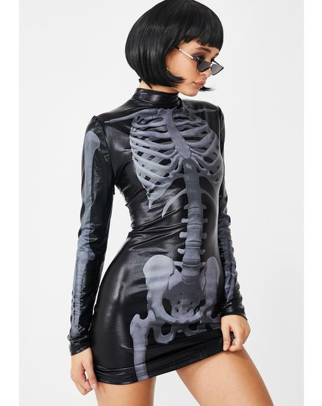 Rattle Your Bones Skeleton Dress