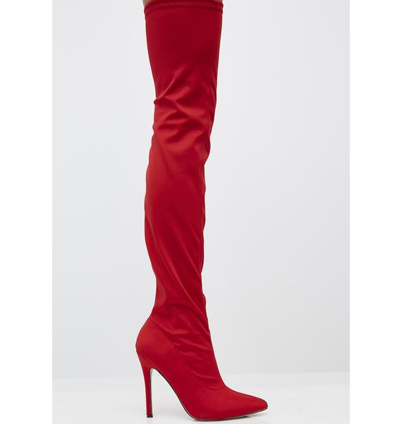 Over You Over The Knee Boots