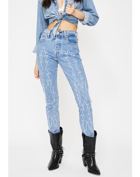 Del Norte 501 Skinny Jeans