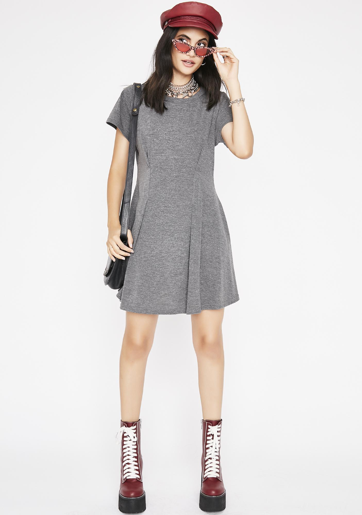 To A Tee Mini Dress
