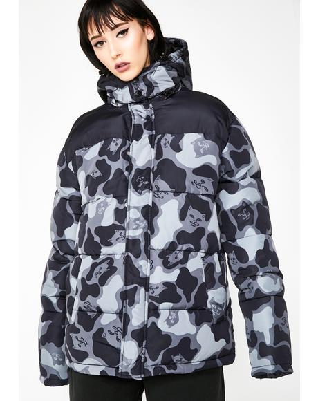Onyx Nerm Camo Puffer Jacket