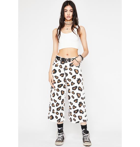 Beware Babe Leopard Jeans