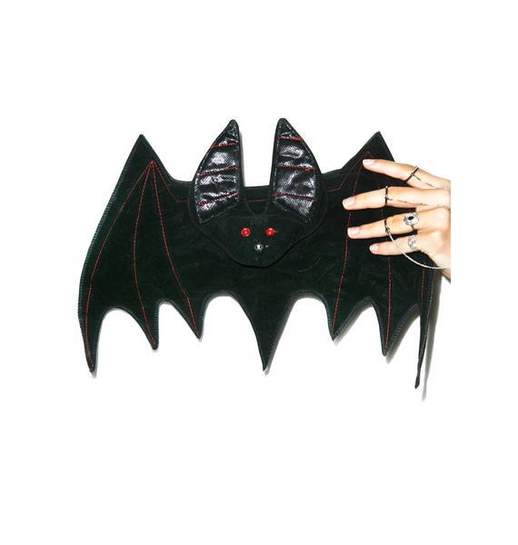 U Make Me Batty Clutch