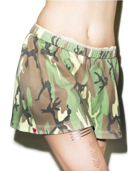 Classic Camo P.E. Shorts