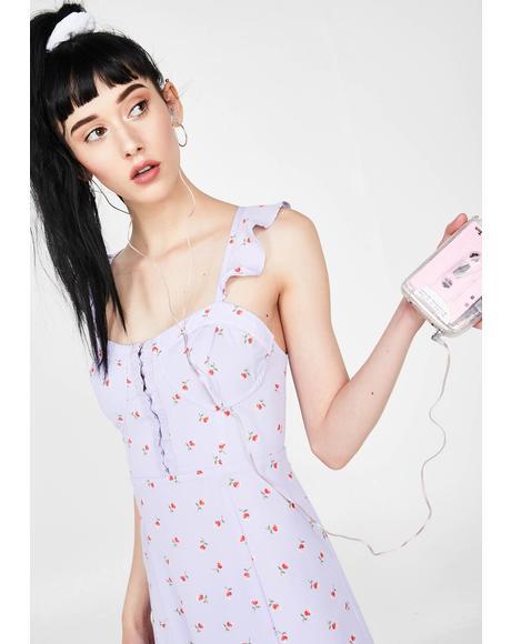 Fresh Faced Cutie Floral Dress