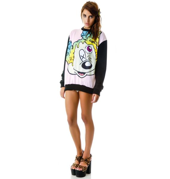 Coveted Society MCKEY Worp Scuba Oversize Crew