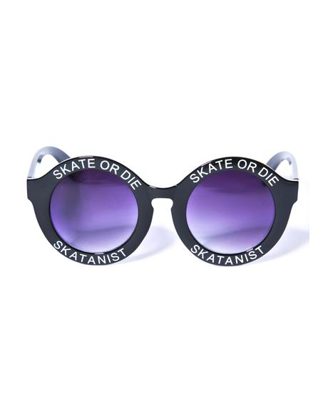 Skate Or Die Sunglasses