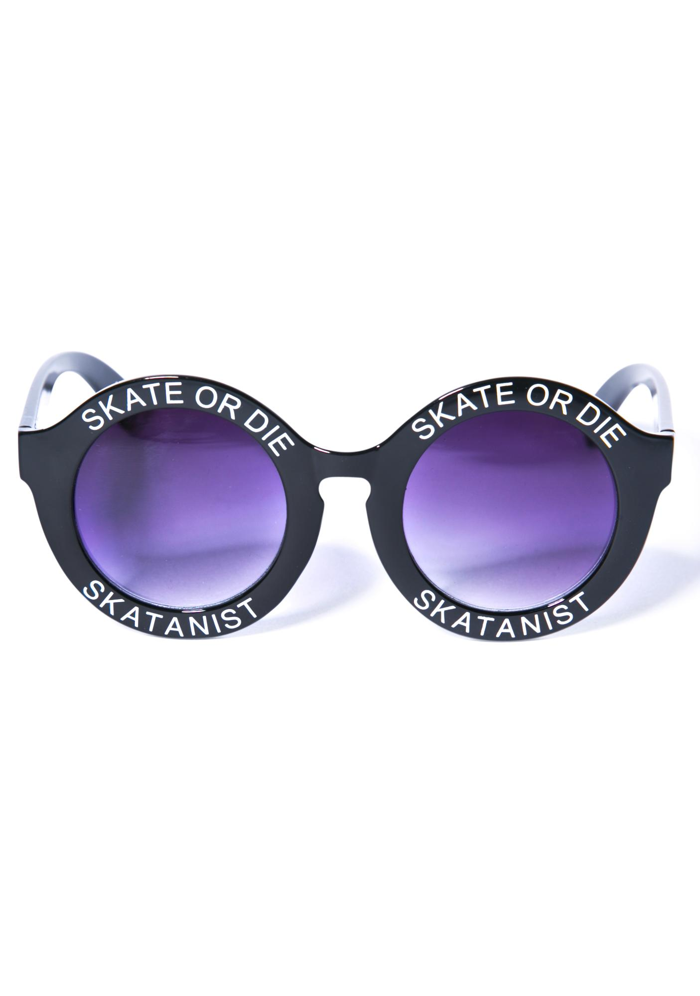 Skate Or Die Sunglasses
