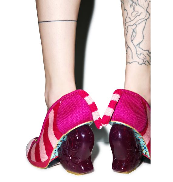 Irregular Choice Prima Dona Cheshire Cat Heel