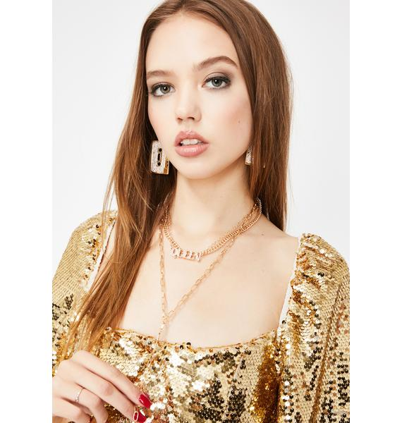 Queen Slay Chain Necklace