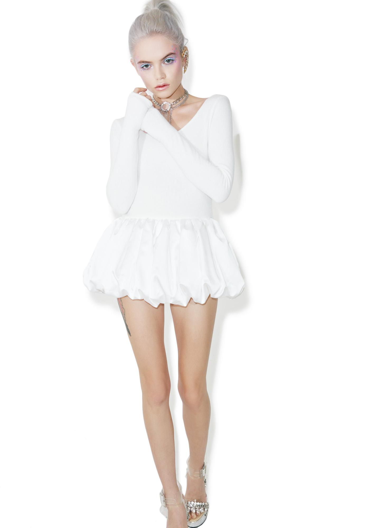 Fete Blanc Love Angeles Playsuit