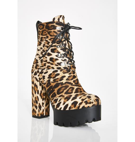 Lamoda Can U Keep Up Platform Boots
