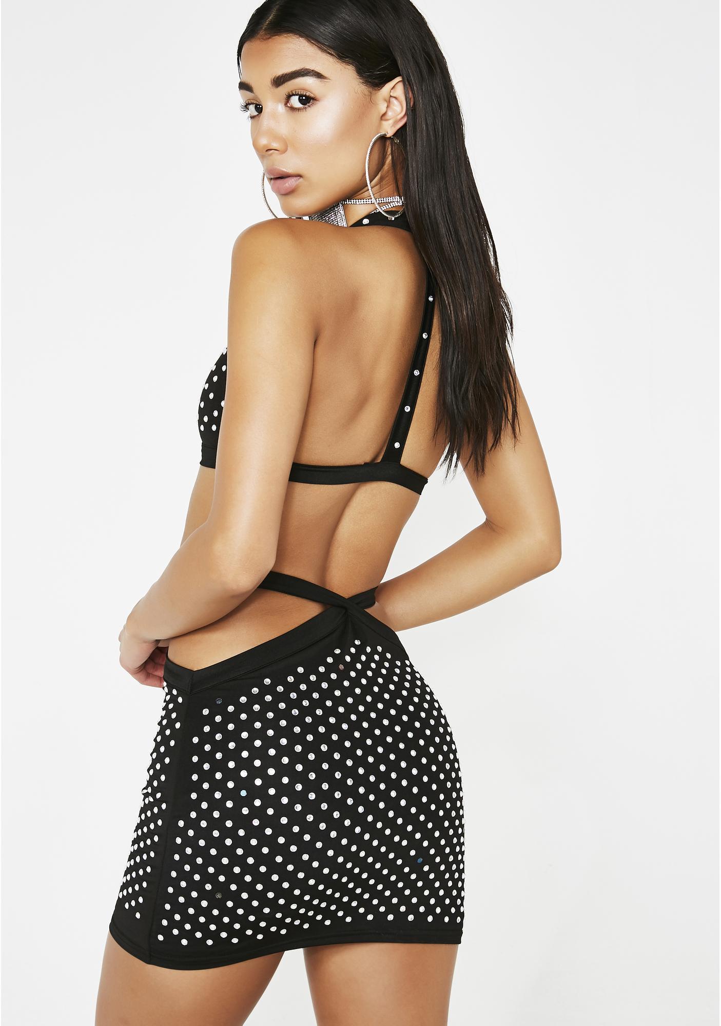 Poster Grl Diamond Fix Mini Skirt