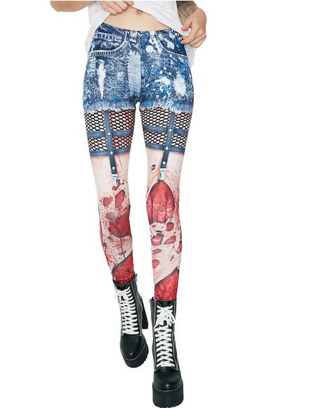 Zombie Printed Leggings