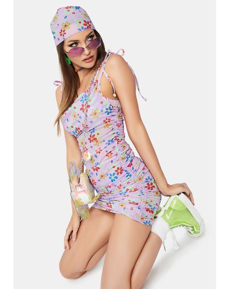 Electric Daisy Mystique Slip Dress