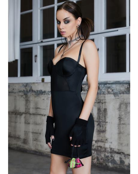 Kickdrum Underwire Mini Dress