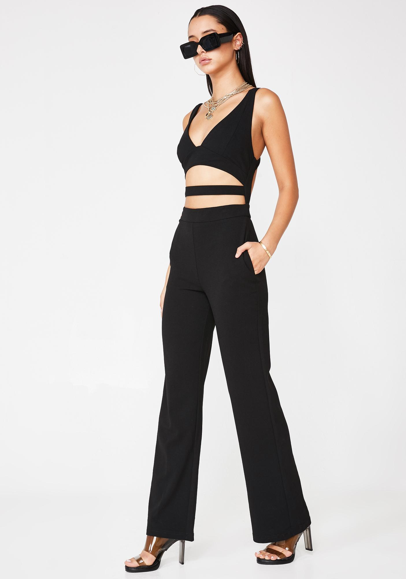 Steal The Scene Cutout Jumpsuit
