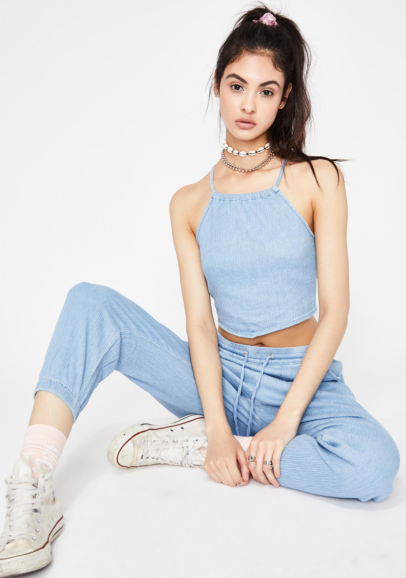Heavenly Charmer Halter Top