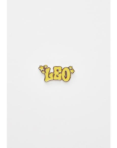 Legitimately Leo Enamel Pin